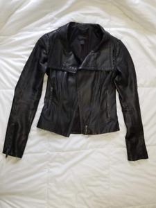 Danier Leather Jacket 3XS