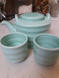 Green teapot set