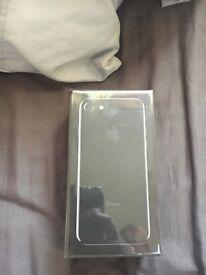 Apple iPhone 7 256gb jet black new sealed unlocked