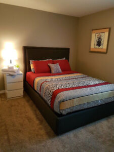 Furnished room available in shared condo. Move in July 1st