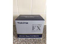Tokina AT-X 24-70 f2.8 Pro FX - Nikon fit