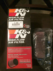 NEW K&N motorcycle reuseable filter