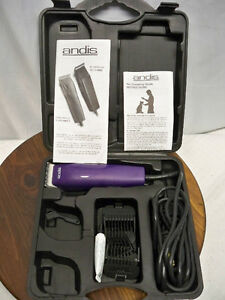 Andis EasyClip Pet Grooming 7-Piece Clipper Kit, Model MBG-2
