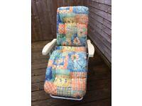 Garden reclining chair