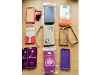 Selection of iPhone cases