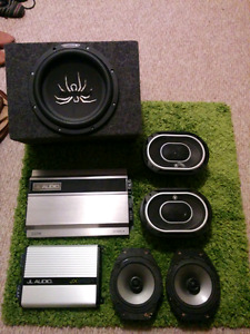 JL audio/Soundstream audio system