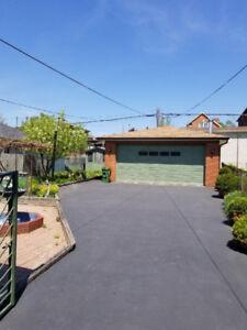 Short term house (8-10 months) with garage. Dufferin/Eglinton