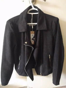 Suede Jacket with tag, brand new