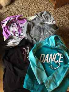 Justice Girls Hoodies, Size 8 and Airwalk Shoes Size 2