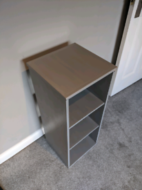 Shelving unit -perfect for holding storage baskets