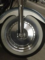 Harley Davidson Inscription White Wall Tire