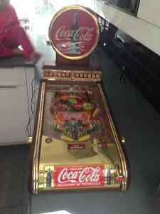 machine a boule pinball coke coca cola
