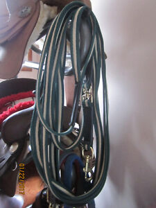 Quality approx. 29 ft Lunge Lead (Leather/ Material) A1!!