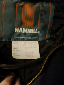 Hammill insulated coveralls size medium