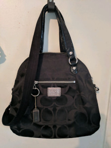 COACH handbag, purse, bag. Poppy Black like NEW!!