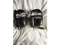 Headsets David Clark Aviation headset and Avcom