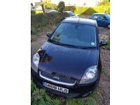 LOW MILEAGE Black Ford Fiesta 1.4l Zetec Climate