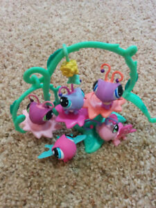 Littlest Pet Shops Butterfly set, like new condition, $10