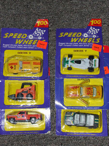 Speed Wheels - Series V - NIP - $10.00 FOR ALL 6 !!! Belleville Belleville Area image 1