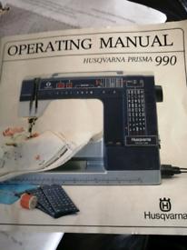 Husqvarna prisma 990 sewing machine