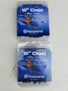 "2 Husqvarna 18"" H80 (68 Links) Chains"