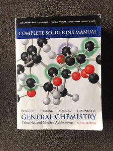 GENERAL CHEMISTRY 10TH ED SOLUTIONS MANUAL
