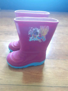 Barbie toddler girls rubber boots