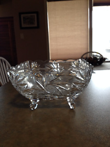 Exquisite Lead Crystal Bowl