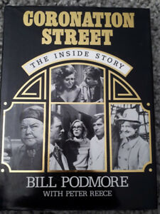 Coronation Street the Inside Story-Bill Podmore w Peter Reece hc