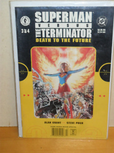 Superman Versus The Terminator Death to the Future 3 of 4 comic