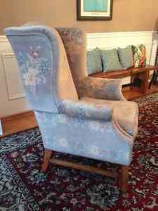 Wingback chair Kitchener / Waterloo Kitchener Area image 1
