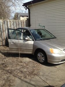2001 Honda Civic Sedan--Asking only $745 o.b.o