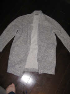 Zara open front sweater or jacket