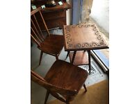 Beautiful Vintage Table and Chairs