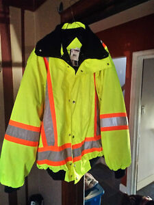 5 in 1 winter safety coat
