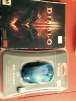Diablo 3 ad wirless mouse both new unopened