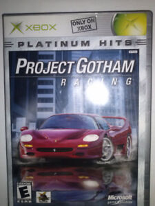 """XBOX game  """"Project Gotham"""" RACING"""