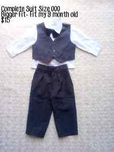 BABY BOY COMPLETE SUIT Figtree Wollongong Area Preview