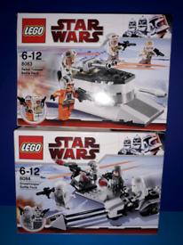 Lego Star Wars Bundle Job Lot 8084 & 8083 Battle Packs 100% Complete