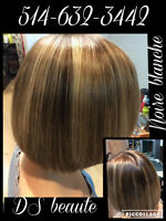 COIFFURE,CILS,ONGLES,TEINTURE,EXTESION,LISSAGE,LAVAL,DUVERNAY