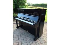 Yamaha U1 upright piano black case free delivery Belfast pianos