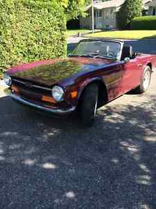 Meticulously cared for TR6
