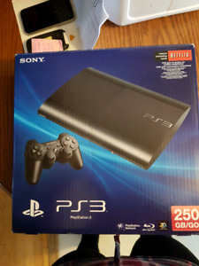 PS3 250GB used less than 10 times $120