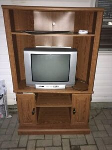 TV and stand for free