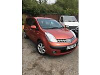 2007 Nissan Note 1.6 16v AUTO SE AUTOMATIC!+low miles 53k+stunning colour