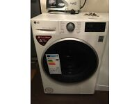 New 9kg LG washing machine