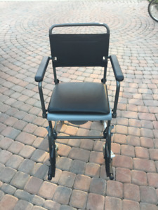 Commode Wheelchair- Never used!