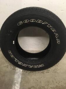 4  Brand New Goodyear Wrangler all-season tires