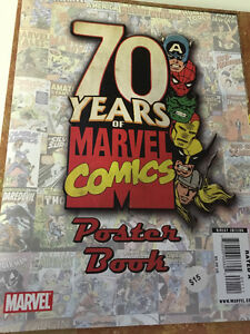 50 years of comics poster book