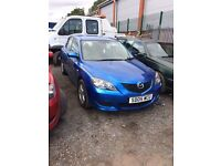 Mazda 3 1.4. Cheap car!! Bargain!!
